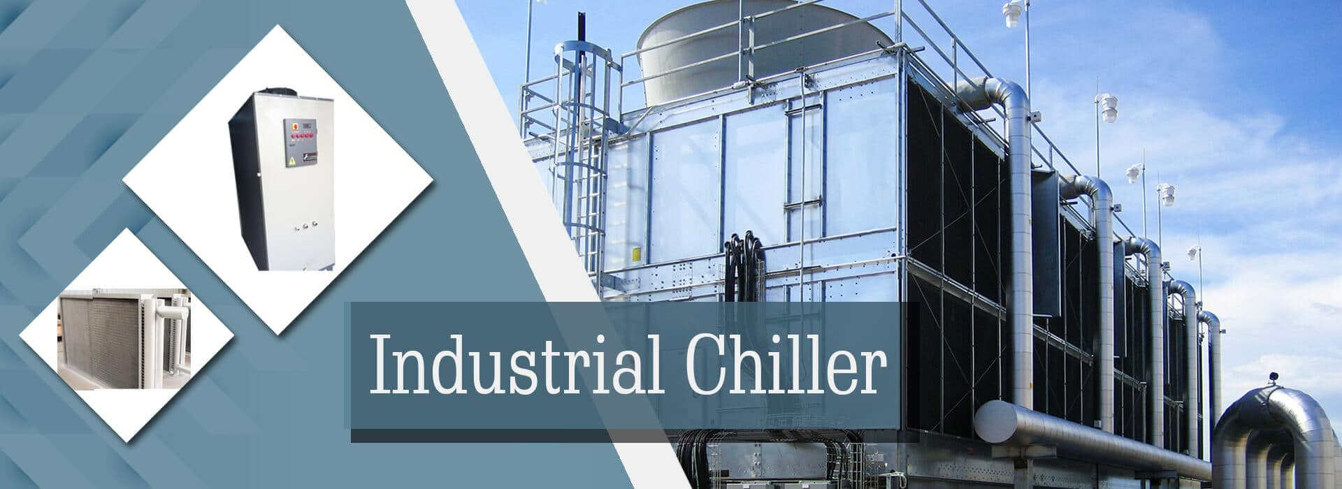 Industrial Chiller Manufacturer, Supplier and Exporter in Ahmedabad, Gujarat, India